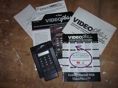 Vintage video+ tv programmer
