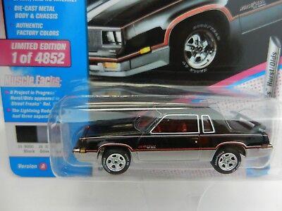 2018 Johnny Lightning *80s MUSCLE CARS USA* Black 1983 Olds Cutlass HURST *NIP*