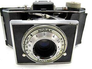 KODAK Bantam 828 film camera 4.5  48MM Anastigmat Lens - working condition