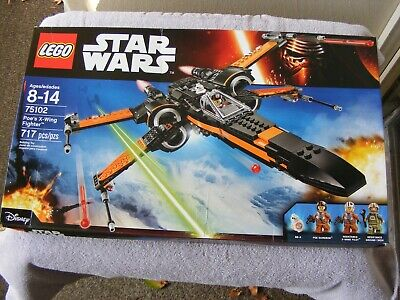 LEGO 75102 Poe's X-Wing Fighter - New In Factory Sealed Box
