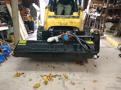 Mower King 6 Skidsteer Skid Steer Brush Flail Mower Cutter Attachment 72