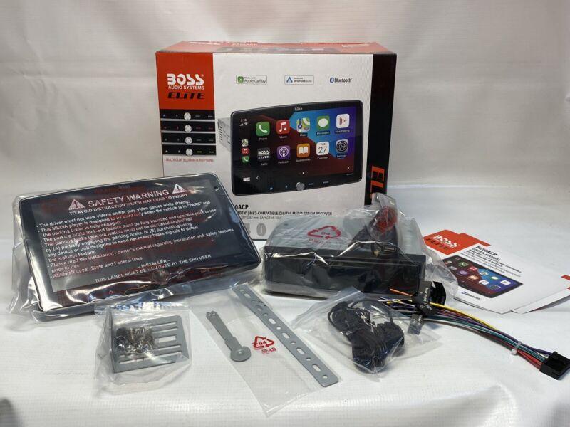 Boss ELITE BE10ACP Apple CarPlay Android Auto Bluetooth Digital Media Receiver