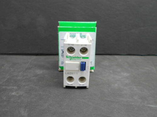 SCHNEIDER LADN11 AUXILIARY CONTACT BLOCK 10A 690V