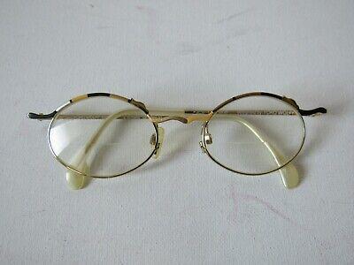 Yoko Wolff  Women Designer Glasses Frame Handmade Germany Black Gold Silver (Yoko Glasses)