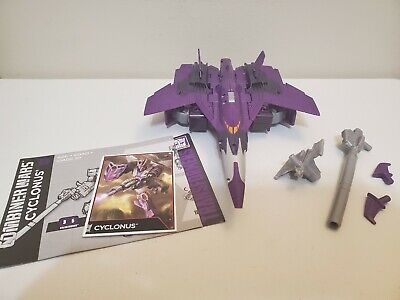 Transformers Combiner Wars Cyclonus Voyager Class Used Complete