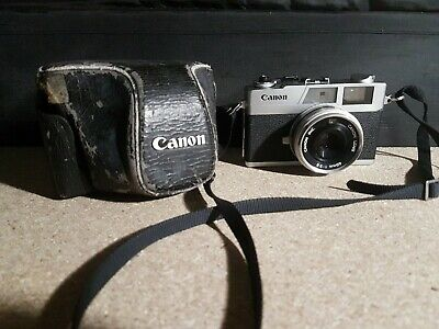 Canon Canonet 28 Rangefinder 35mm Camera f/2.8 40mm Lens