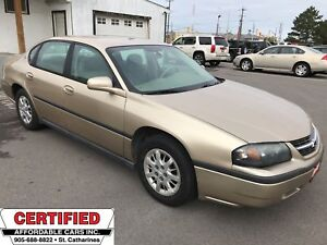 2004 Chevrolet Impala ** CRUISE, 6 PASS, PREVIOUS OIL SPRAYED **