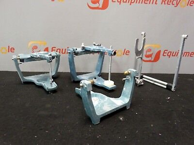 Hanau Dental Articulators Lab Direct Mount Whipmix Springbow Facebow Lot