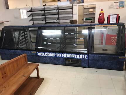 4m Bakery Display Cabinet Free Standing