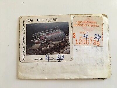 Licenses - Trout Fishing License