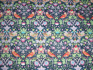 LIBERTY TANA LAWN FABRIC STRAWBERRY THIEF 2 METRES