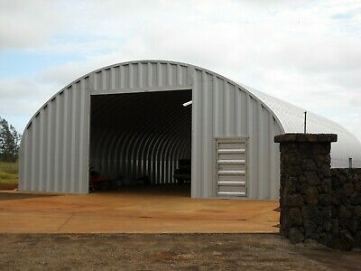Durospan Steel S40x60x16 Metal Arch Diy Farm Building Kit Ag Barn Factory Direct