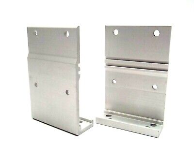 Lot Of 2 Dorner 240831 Stand Mount Bracket 2200 Series Conveyor