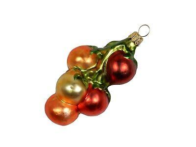 Cherry Tomato Branch Fruit Garden Veggie Glass Christmas Ornament Poland 220050 ()