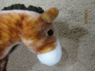 TY Beanie Buddies Collection Horse: Oats: 12