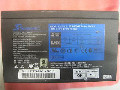 Seasonic SS-360GP 360W 80 Plus Gold PC-Netzteil PSU (360 Watt, ATX 12V)