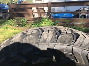 40 INCH MUD TIRES