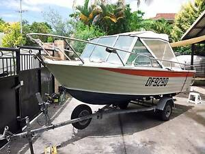 STACER 4.3m Alloy Runabout 40 hp Suzuki  Great Boat Southport Gold Coast City Preview