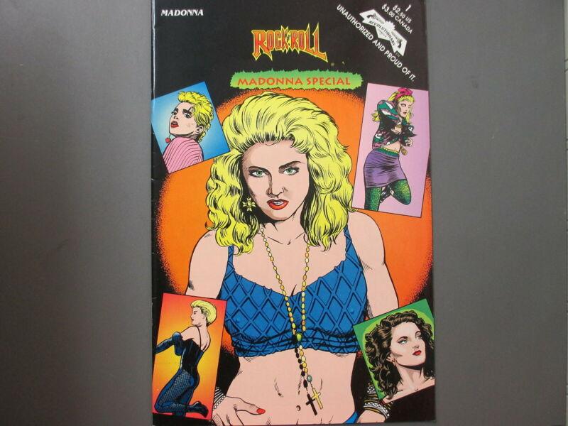 Madonna comic Rock n Roll Comics Madonna Special 1993 First Printing !