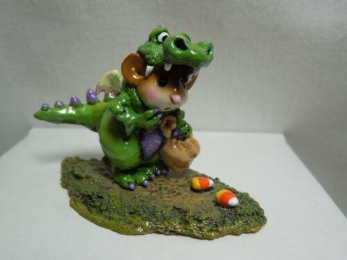 Wee Forest Folk Dragon Dress-up Green M-377