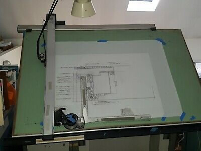 Stacor Drafting Table 60 X 38 Top