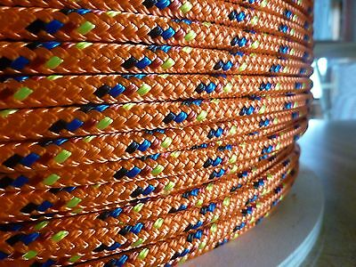 3 16  X 57 Ft  Double Braid Yacht Braid Polyester Sailboat Line  Marine Rope