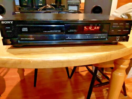 Sony CDP-190 single CD Player - Tested and Working Compact Disc Digital Filter