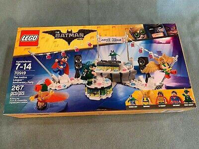 "2018 LEGO The Batman Movie ""Justice League Anniversary Party"" set #70919 NIB"