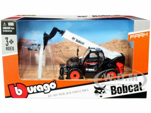 BOBCAT T40.180SLP TELESCOPIC HANDLER W/ PALLET FORK WHITE & BLACK BBURAGO 32087