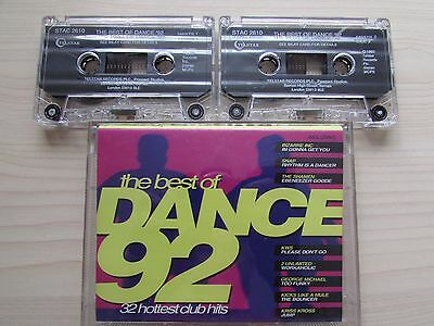 THE BEST OF DANCE '92 TWIN CASSETTE SET, 32 HOTTEST CLUB HITS,