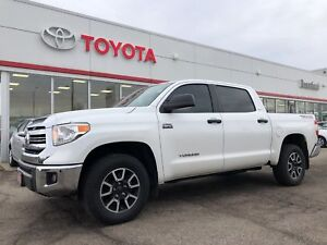 2016 Toyota Tundra Crew Max, TRD, Sunroof, Line X, Local Off Lea
