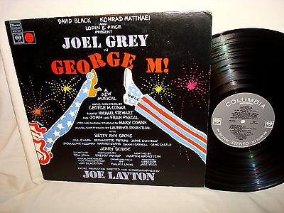 s/t GEORGE M!-JOEL GREY/JOE LAYTON-COLUMBIA KOS 3200 VG/VG+  LP