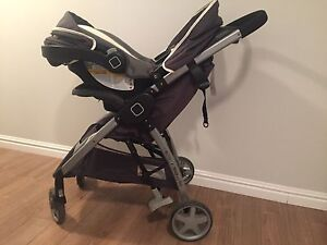 Safety 1st Step and Go stroller and car seat