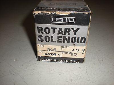 Ushio 50r - Dc24v Rotary Solenoid - Nib