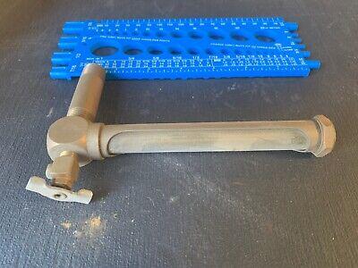 Lunkenheimer Brass Oiler No.529 38 Hit Miss Or Locomotive Steam Engine