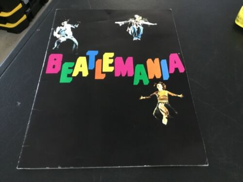"Beatles Concert ""Beatlemania"" Program Book"