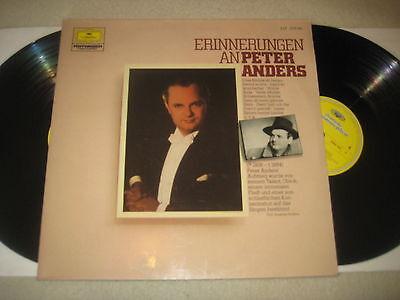 Peter Anders - Erinnerungen an ....   Vinyl 2 LP