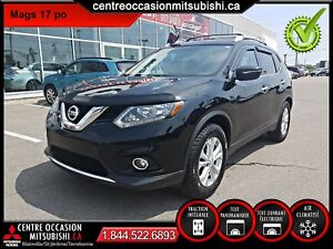Nissan Rogue SV 2014, TRACTION INTÉGRALE, TOIT PANO, MAGS 17 PO