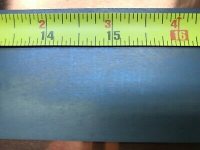 99.95 Pure Molybdenum Foil Matte Finish 0.005 Thick 2-3 Strips To 24 Long