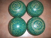 Taylor REDLINE SR Lawn Bowls Size 4H WB17 Plain Grips V.G.C Surfers Paradise Gold Coast City Preview