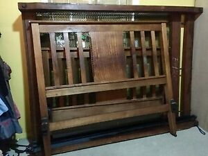 antique double bed no mattress Chester Hill Bankstown Area Preview