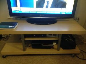 Light timber TV unit Gladesville Ryde Area Preview
