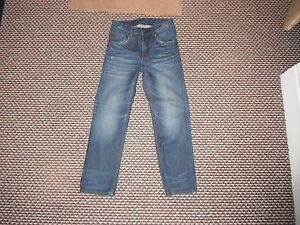 And-Relaxed-Jeans-Waist-27-Leg-24-Faded-Dark-Blue-Boys-10-11-Yrs-Jeans