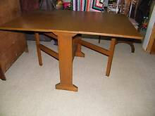 Dining Timber Table/drop leaf and Dining Chair Warragul Baw Baw Area Preview