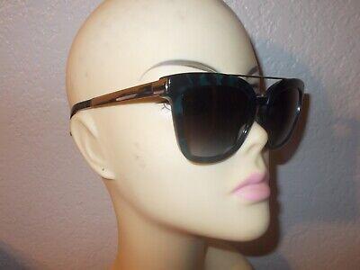 Dolce & Gabbana DG 4269 2887/8G Havana Blue Frame Gray Lenses Sunglasses