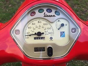 Vespa LX 125 - RED NEW CONDITION. Lucaston Huon Valley Preview