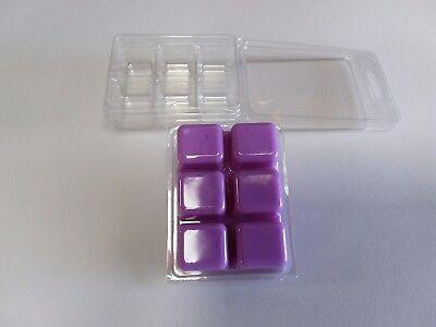 50 Wax Melt/tart Clamshell Packaging