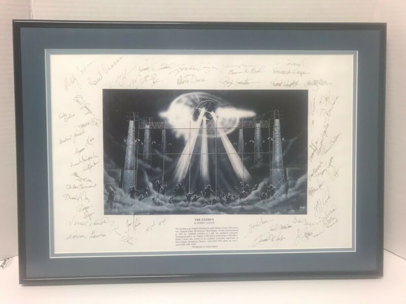 The Exodus-Bobby Locke Signed Broadway Replacement Cast Miss Saigon 1991 Reprint