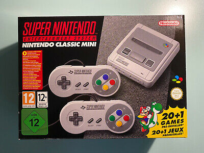 Nintendo Classic Mini: Super Entertainment System e 2 Controller - Grigio...