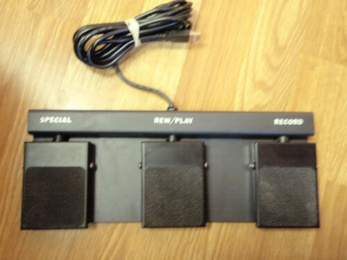 FP110 USB Dictate foot pedal 3 button